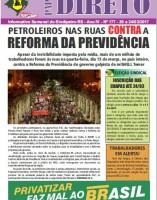 Petroleiros nas ruas CONTRA a Reforma da Previdência
